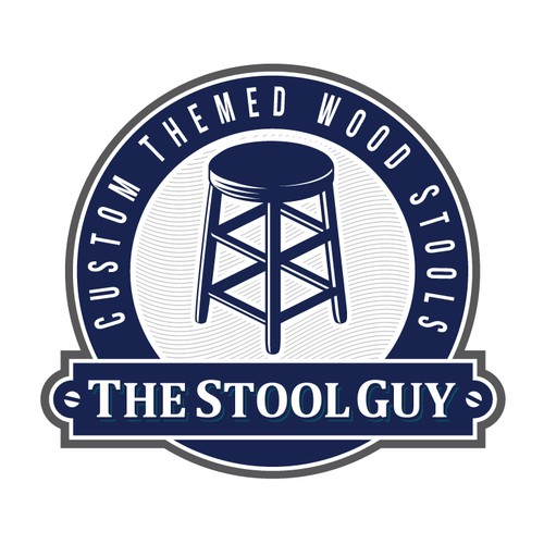 Logo design for The Stool Guy.