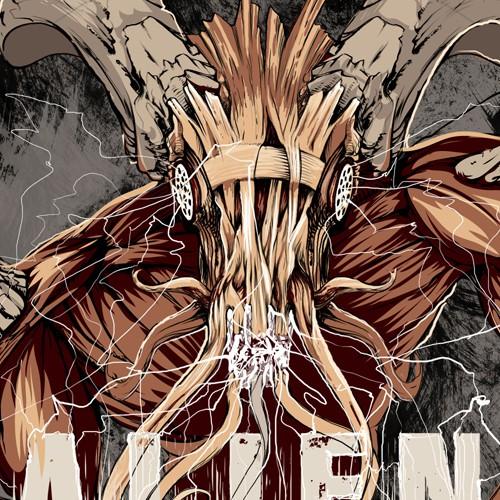 Illustration for metal band