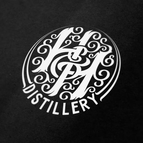 H&H Distillery Logo Concept