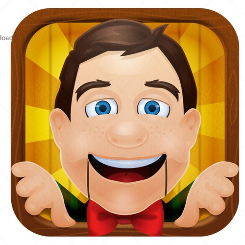 Icon Design for iPhone app Face Funnerizer