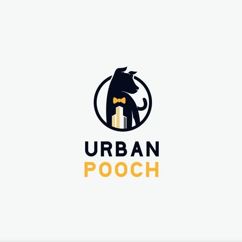Dog apparel logo for Urban Pooch