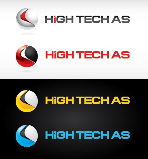 Create the next logo for High Tech AS