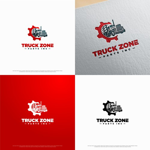 Bold logo for Truck Zone Parts Inc