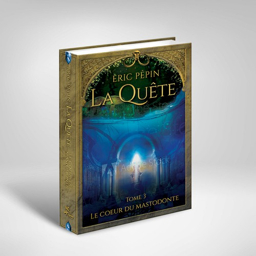 Fantasy Saga Cover Design