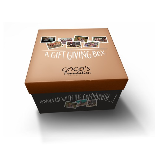 Packaging for a charity foundation