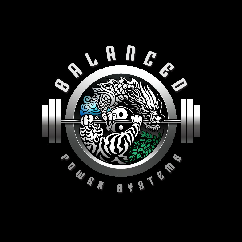 """""""Powerful design for a Powerlifting Coach"""" (Dragon,Tiger+Yin and Yang Symbol included please)(powerlifting/gym related)"""