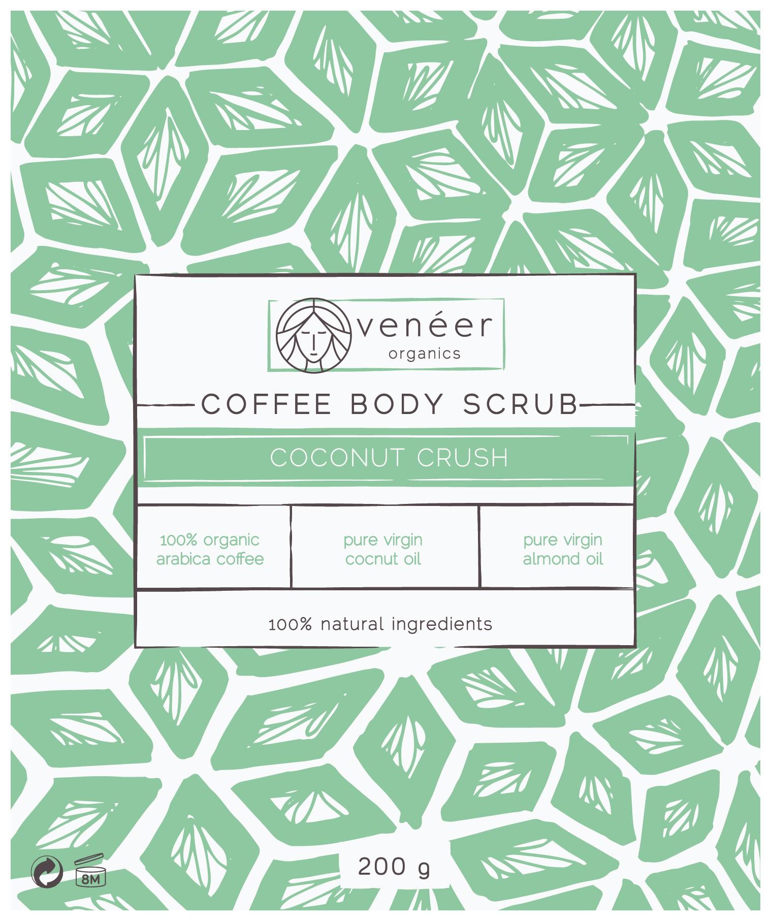 LABEL FOR COFFEE SCRUB