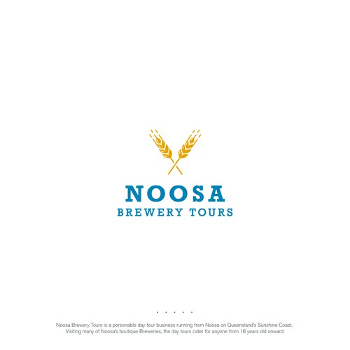 Logo for brewery tours on Queensland's Sunshine Coast