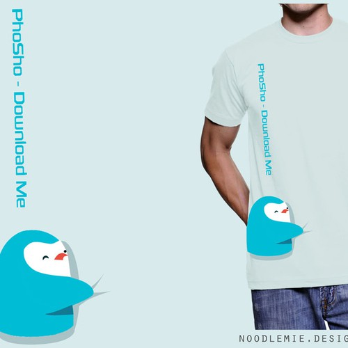 This Awesome Little Penguin Guy Needs A Shirt! Help Us Out!