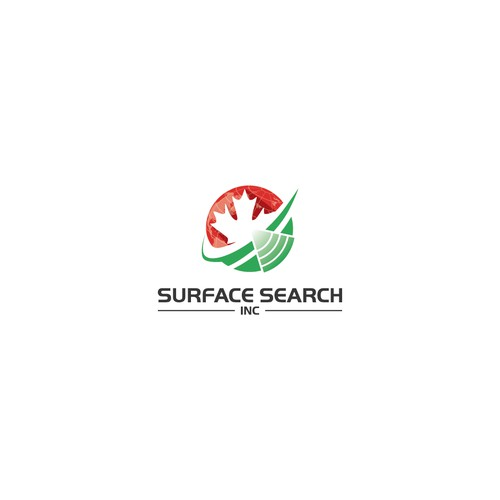 Bold Logo concept for Surface Search.Inc