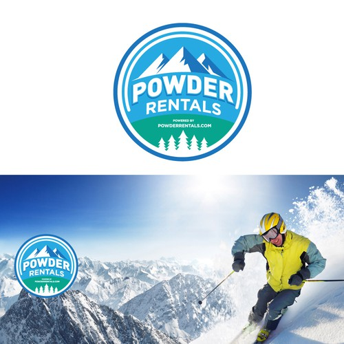 logo for ski rental