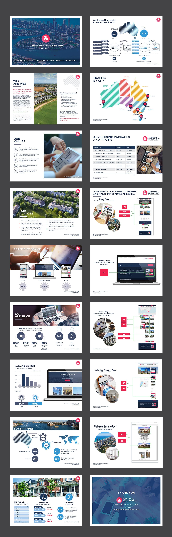 Design Media Kit for Real Estate Company