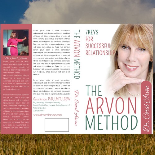Cover book, Contest Dr. Coral Arvon