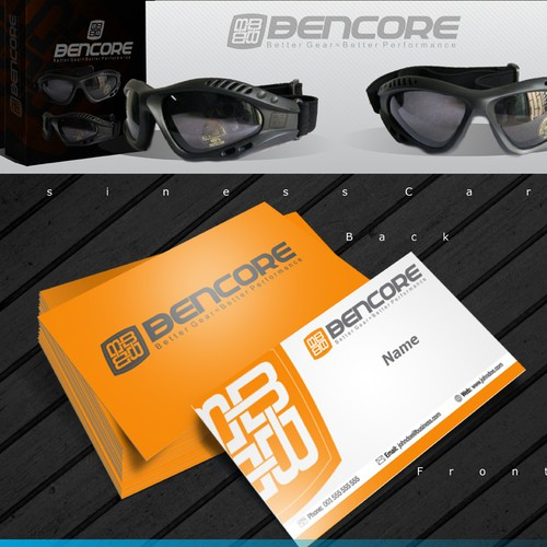 Bencore, needs a new logo and business card