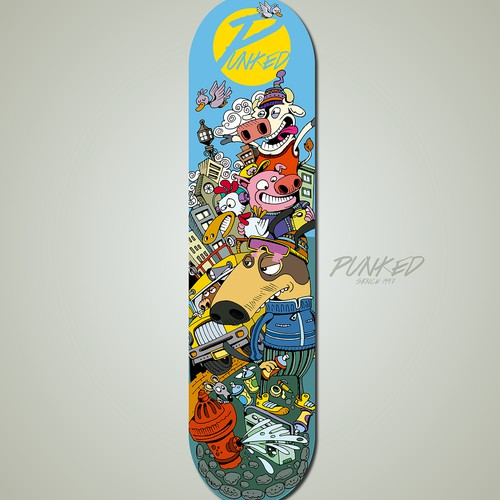 Skateboard Graphic