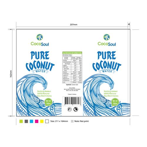 Pure Coconut logo