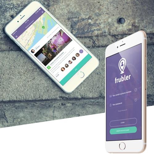 Frubler Mobile App - Find Local Events
