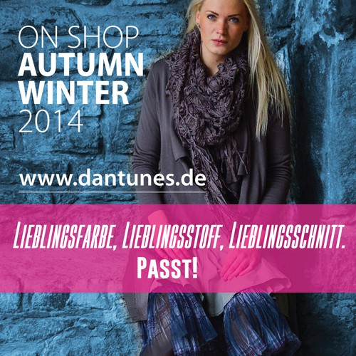 A4 Fashion article in a German journal for a German fashion shop