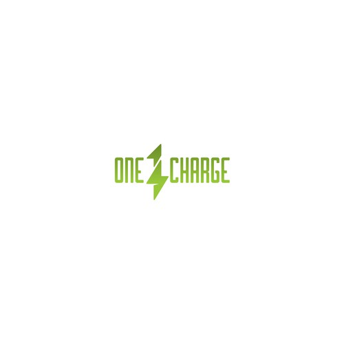Clever logo concept for One Charge