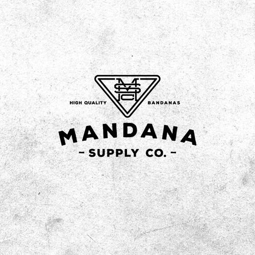 Bold log for Bandana Company