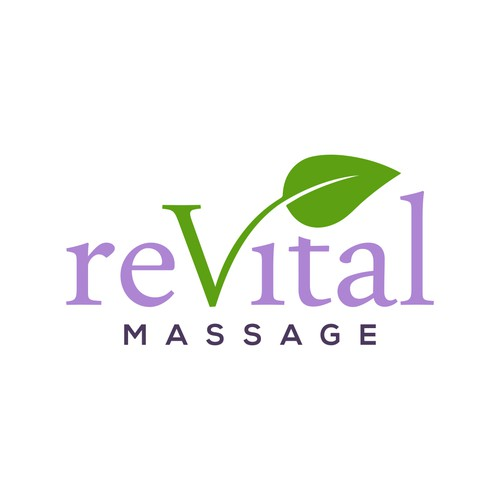 Logo design for ReVital Massage