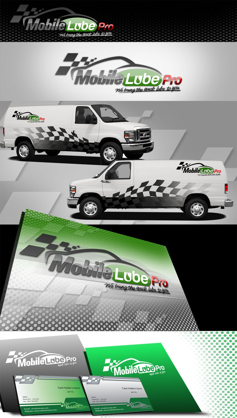 Create the next logo for Mobile Lube Pro