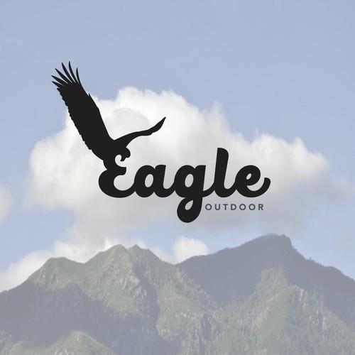 Blod Eagle Logo for Outdoor Company