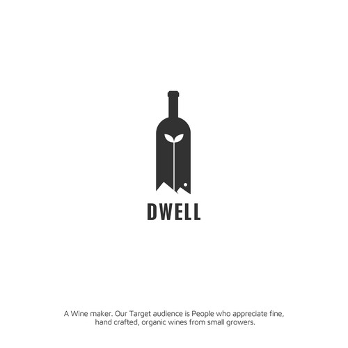 Dwell Wines Logo Design