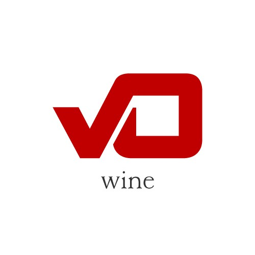 Bold logo concept for wine series