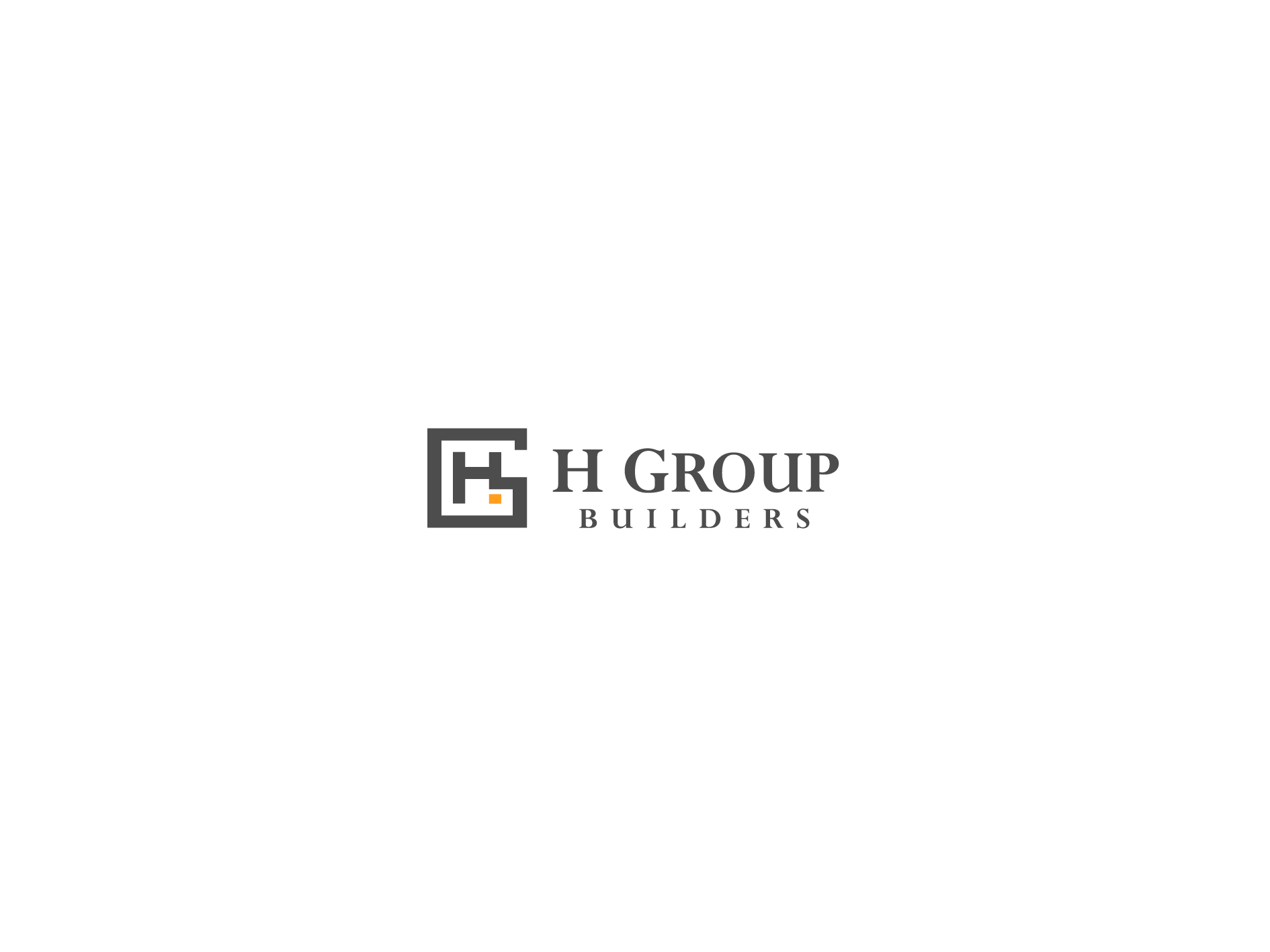 Create the next logo for H Group Builders