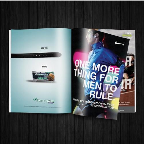 Magazine ad for Venture Bar