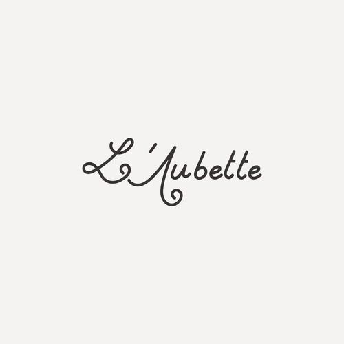 Logo design for L'aubette