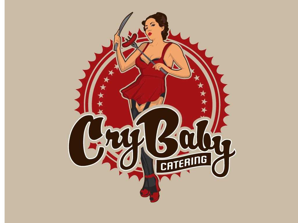 BadAss LOGO needed for Cry Baby Catering