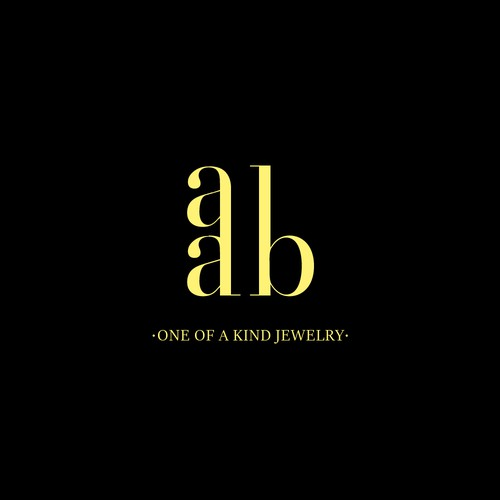 AAD Jewelry Business Logo Concept