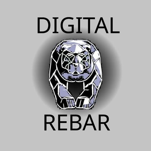 Melal bear for technology company