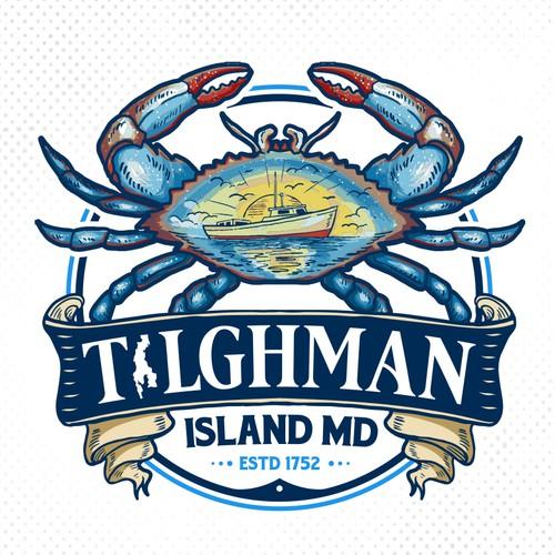 Tilghman Island Flag