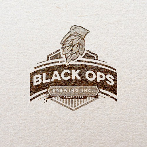 Logo for micro brewery branding