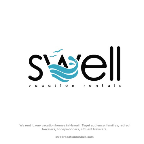 Swell vacation rentals logo