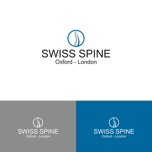 Create a stylish and modern logo for a Spine Surgery practice - FAST FEEDBACK