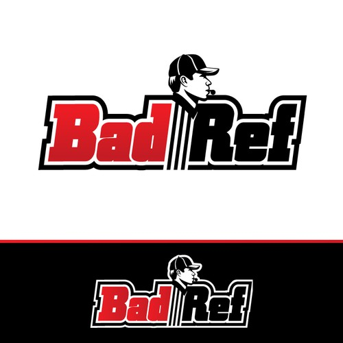 Bad Ref Logo Design