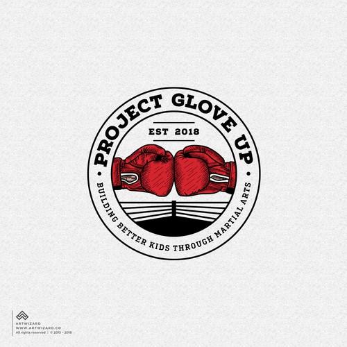 Bold Logo for a Nonprofit Martial Art Training Camp