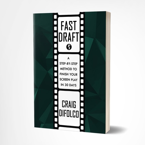 Bold Book Cover for Screen Writing