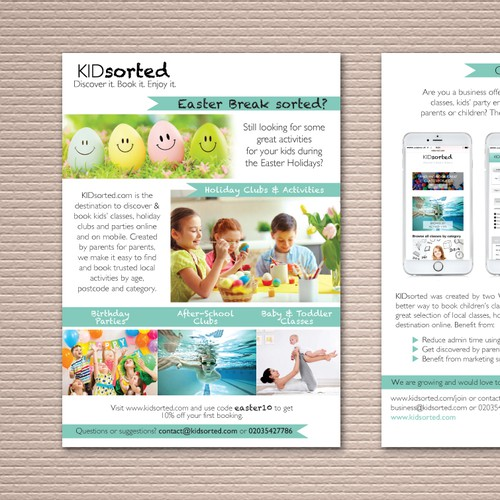 KIDsorted Easter Campaign Flyer