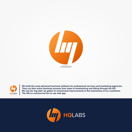 "Sophisticated web app ""HQ"" needs new Logo and corporate design!"