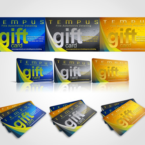 Gift Card Design needed for market-leading auto service company