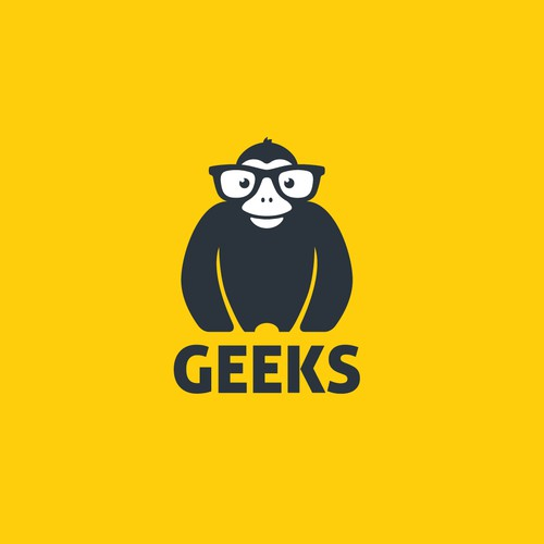 Make a tech support company memorable, create a logo for GEEKS!