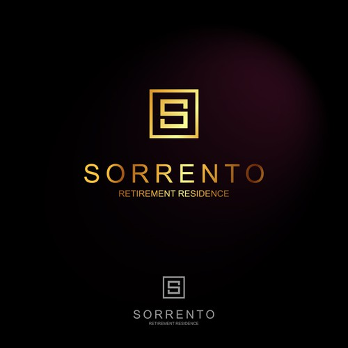 Luxury logo for a retirement residence