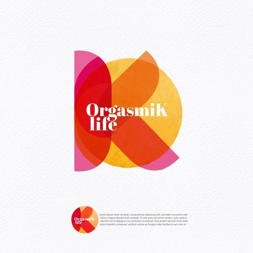 Logo that inspire an OrgasmiK Life.