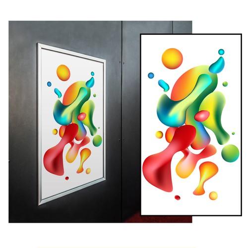 Abstract vector art