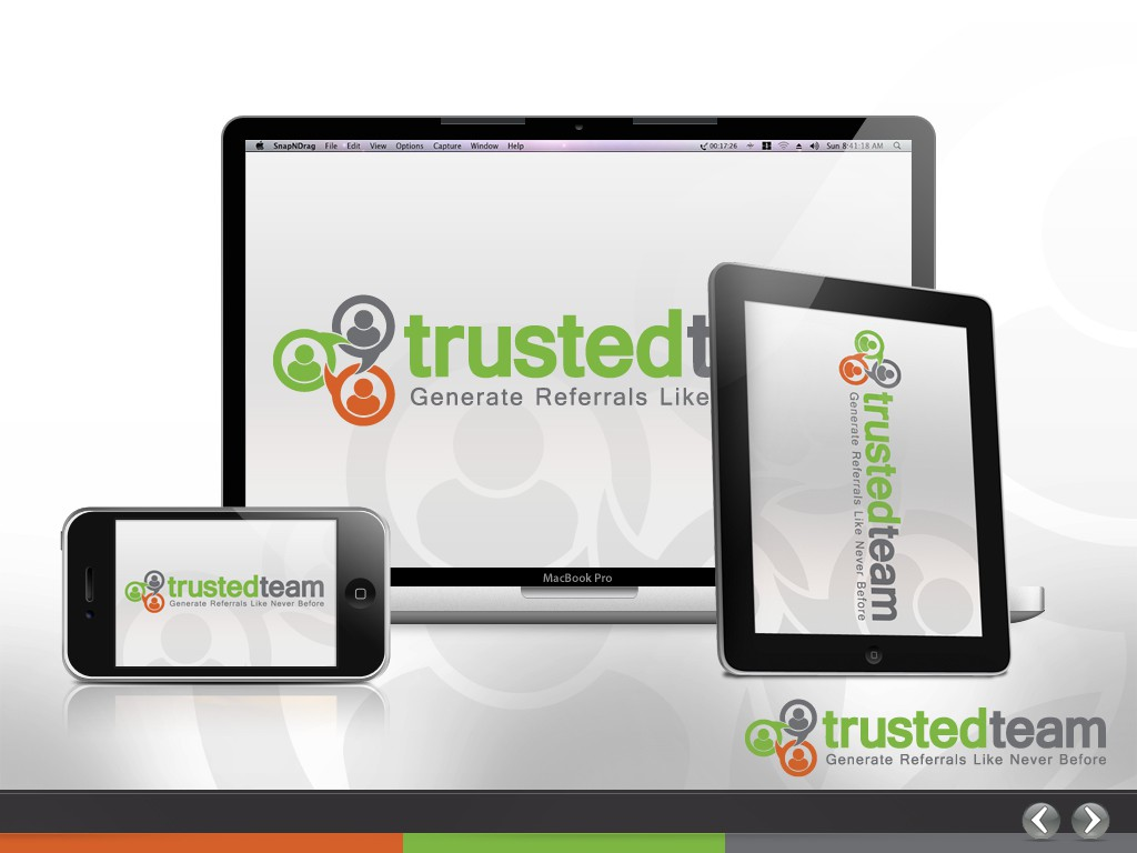 Please help us create a new POWERPOINT PRESENTATION for www.trustedteam.com